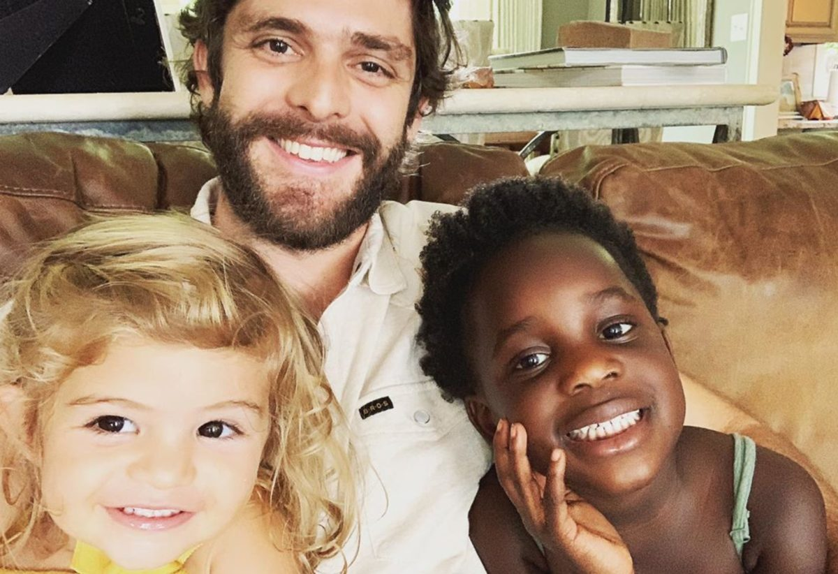 Thomas Rhett Admits He's Scared As He Raises and Protects His Black Daughter