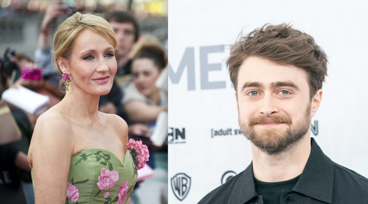 'harry potter' actor daniel radcliffe speaks out in support of the transgender community and against statements made by author j.k. rowling