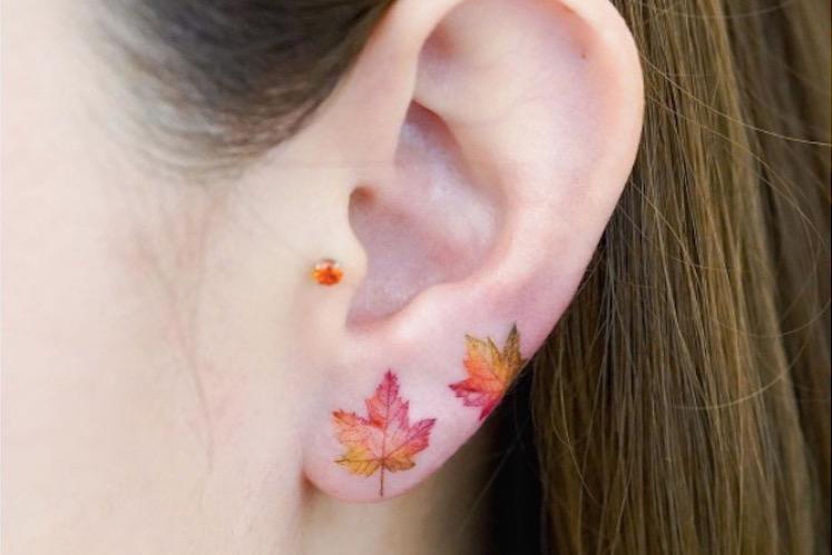 25 ear tattoos