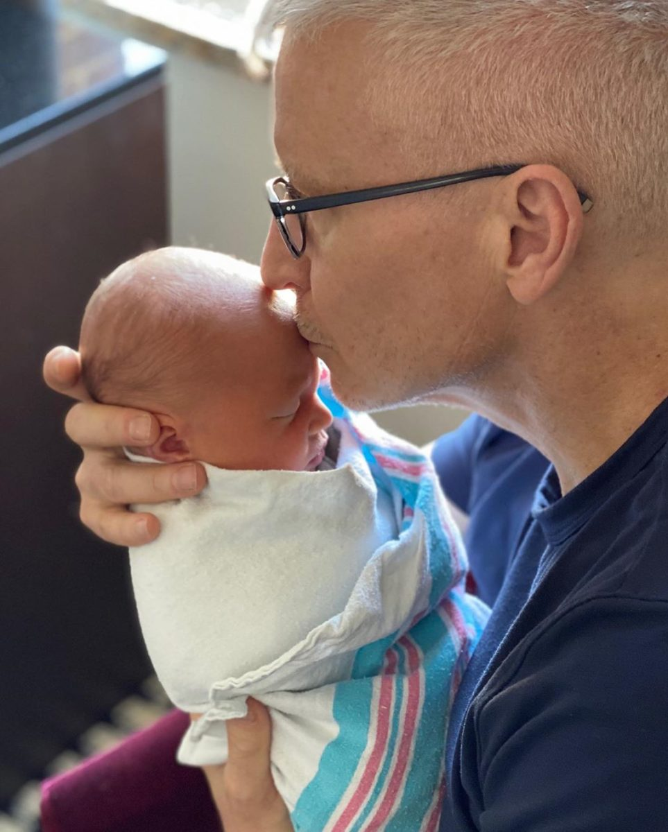 """in honor of anderson cooper's first father's day, here are some of his best dad moments so far   """"i knew what it was like growing up without a dad. if there was ever something that happened to me, i would want wyatt to be surrounded by love."""""""