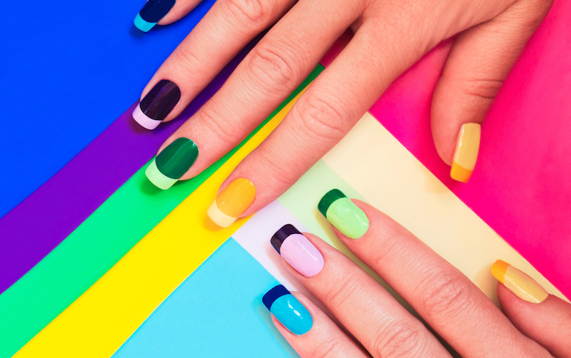 7 nail art looks we'd try if we weren't moms   as moms, we would love to fit in some extra self-care, but sometimes it just doesn't seem possible. when it comes to getting your nails done, it makes sense that many moms choose simple nail lengths, colors, and designs so they don't get damaged during playtime and when you're trying to keep the house clean.