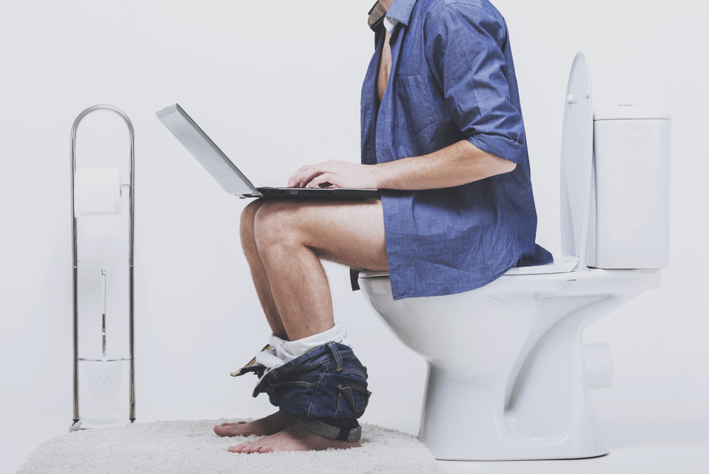 My Husband Spends Three Hours a Day in the Bathroom, Supposedly Pooping... But That's Not Normal Right?