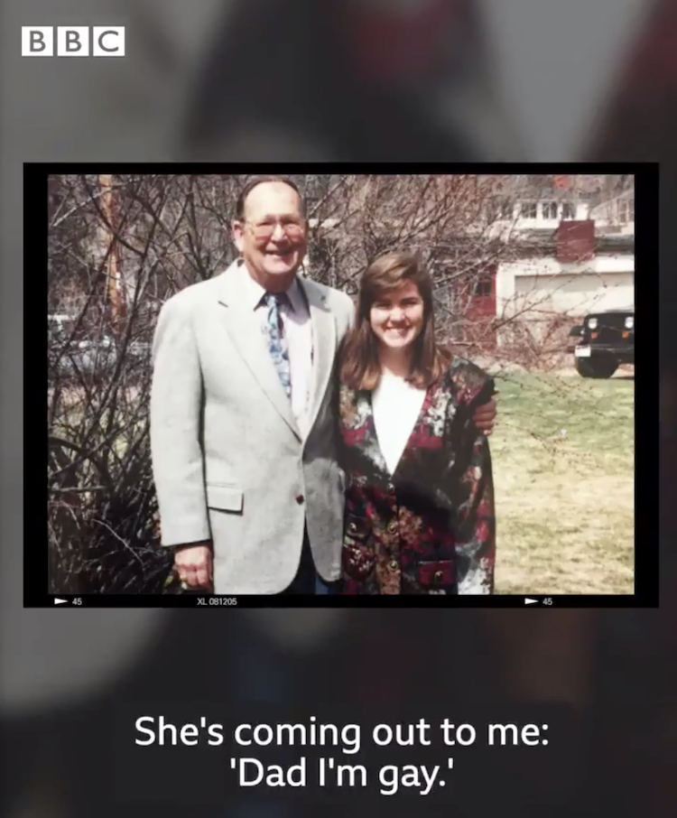 'i'm free!' 90-year-old man comes out to his gay daughter in truly touching video