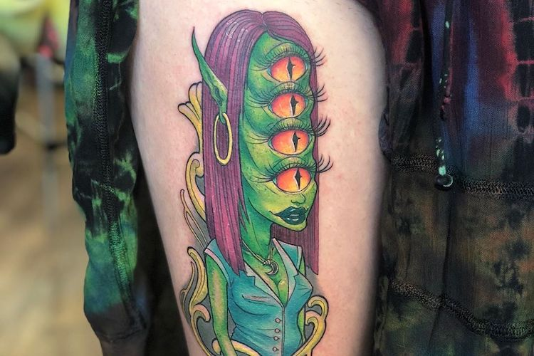 29 Creepy Tattoos That Are Nightmare Fuel