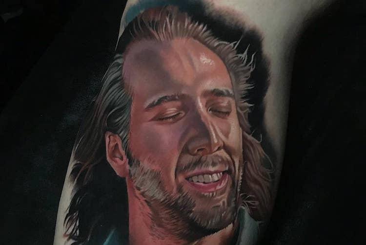 13 Insane Nicolas Cage Tattoos That Are Downright Meme Worthy
