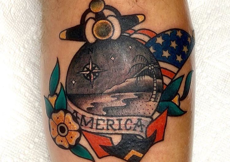 25 Patriotic Tattoos Celebrating USA Love This Independence Day