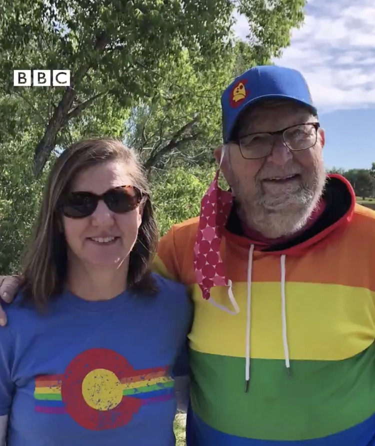'i'm free!' 90-year-old man comes out to his gay daughter in truly touching video | it's never too late to embrace who you are and live the life you want to live. just ask 90-year-old kenneth felts, who recently came out to his daughter, rebecca, who is also gay.