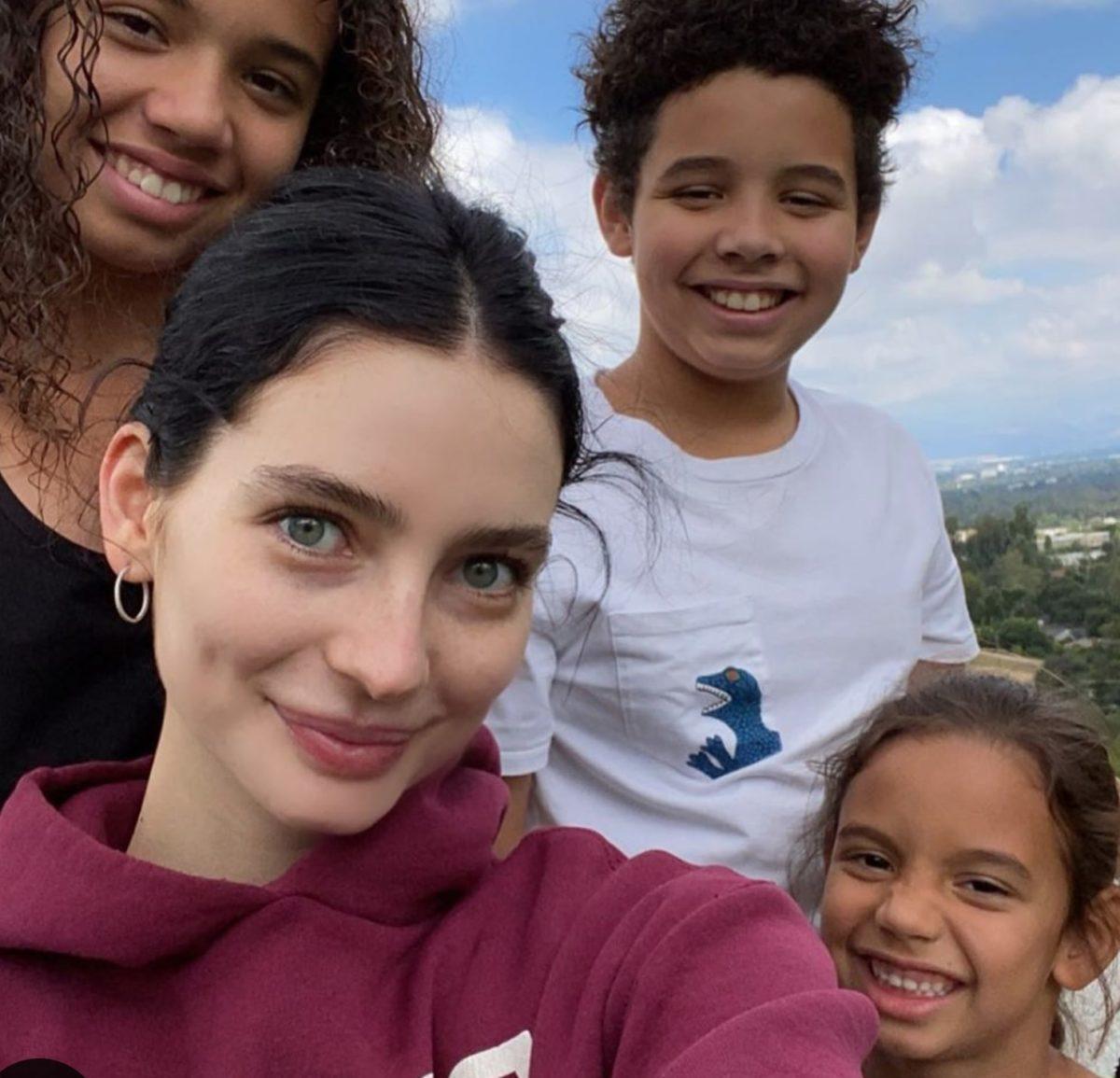 paul walker's meadow takes selfie with vin diesel's kids