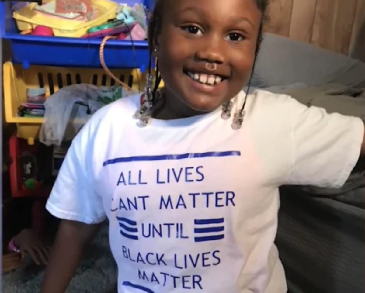 6-Year-Old Girl Called Racist For Wearing BLM T-shirt