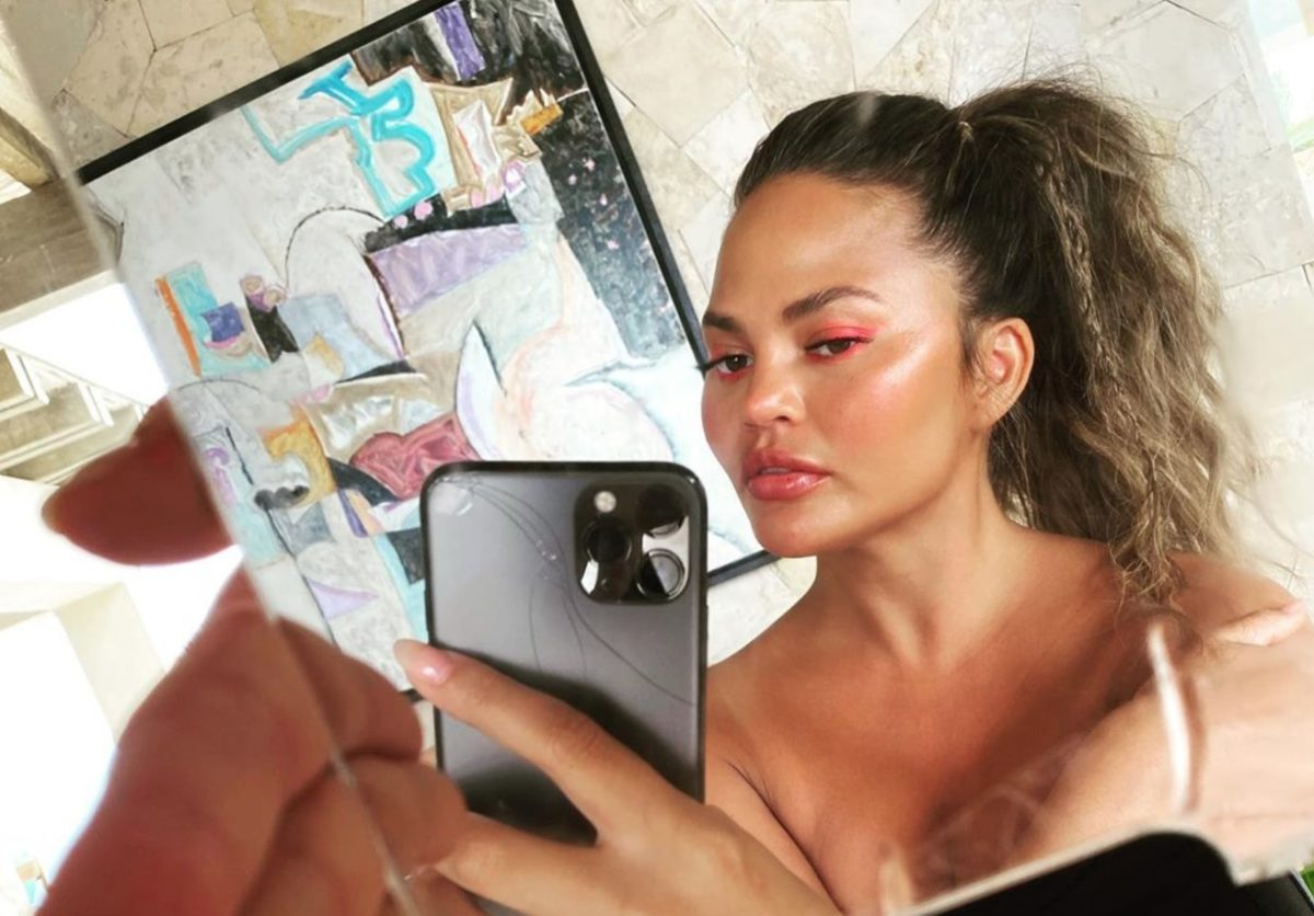 Chrissy Teigen Claps Back Over Boobs, Losing Weight & Cancer