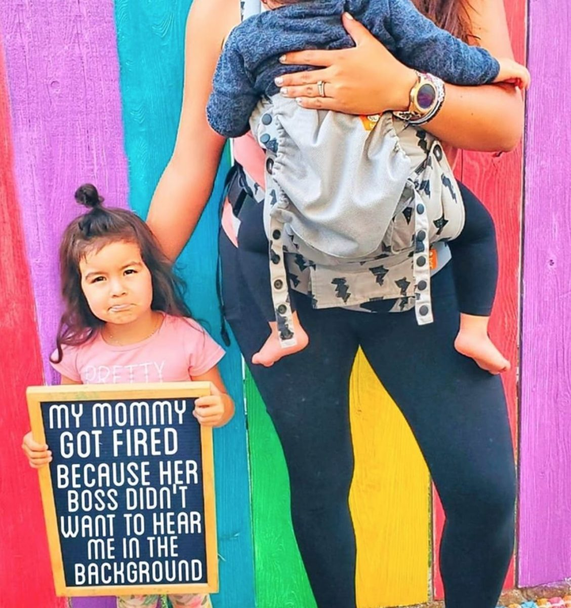 Mom Sues Former Employer For Getting Fired Over Noisy Kids