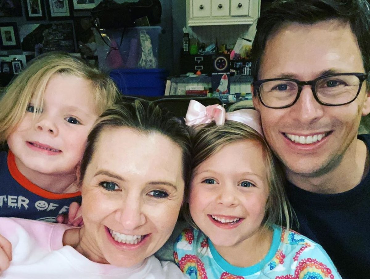 beverley mitchell welcomes her 'gold after the rainbow baby'