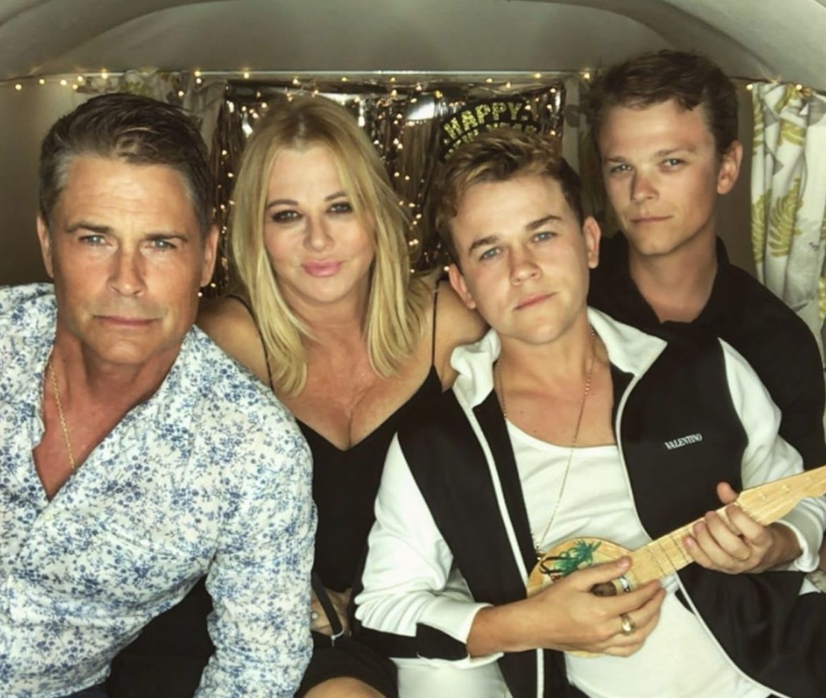 Rob Lowe's Son Reacts To Gwyneth Paltrow Teaching Mom Sex