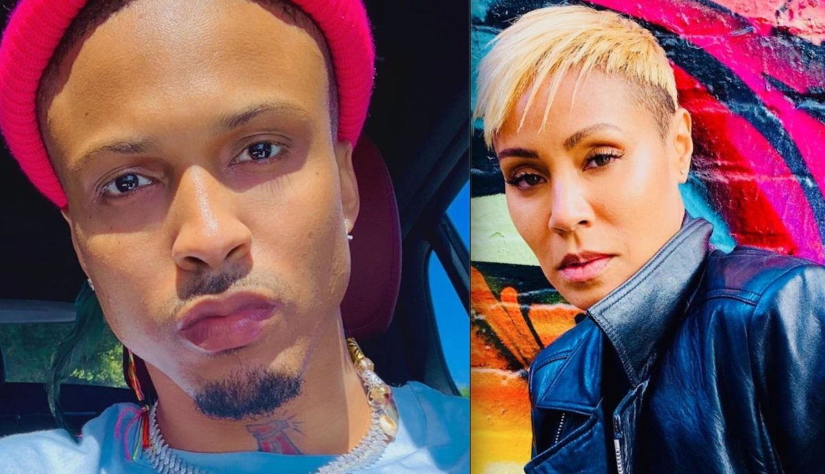 August Alsina Responds to Jada Pinkett-Smith's Using the Term 'Entanglement' to Describe Their Now-Public Past Relationship