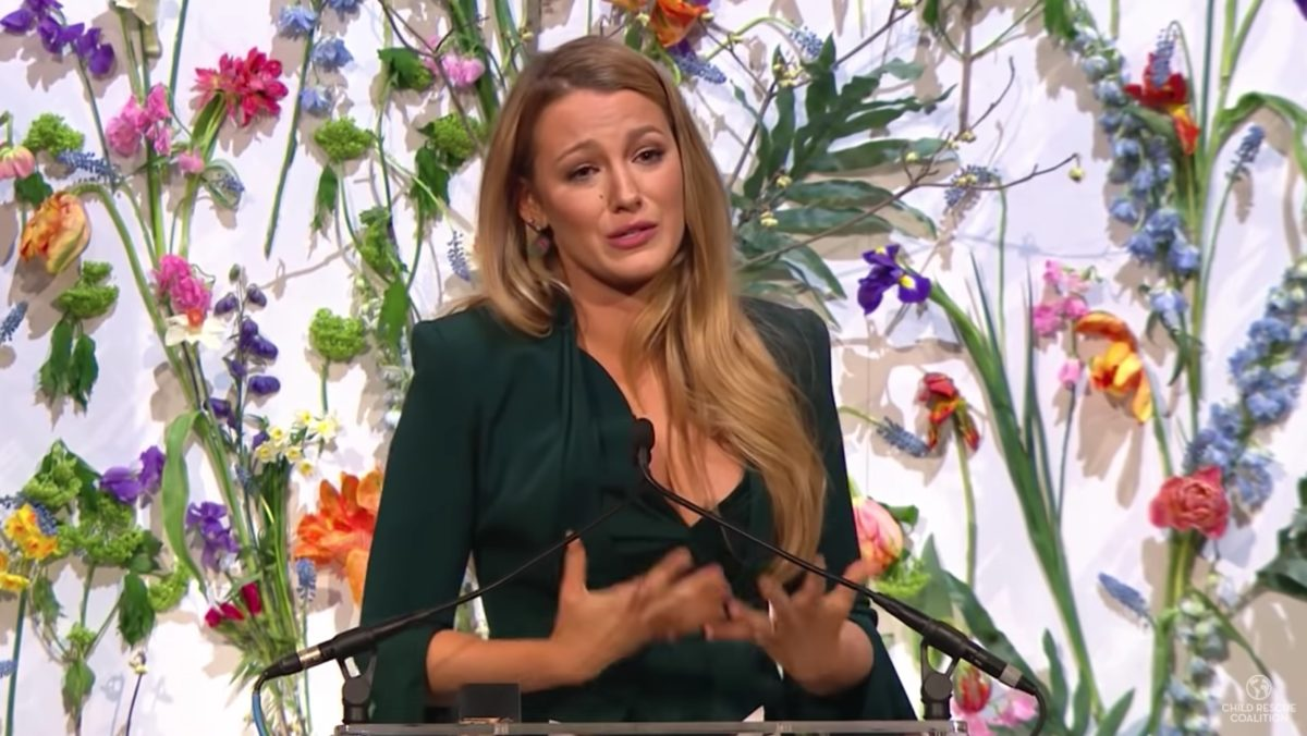 Video of Blake Lively Talking About Child Exploitation on the Internet Is Going Viral and It's Something We All Should Listen To