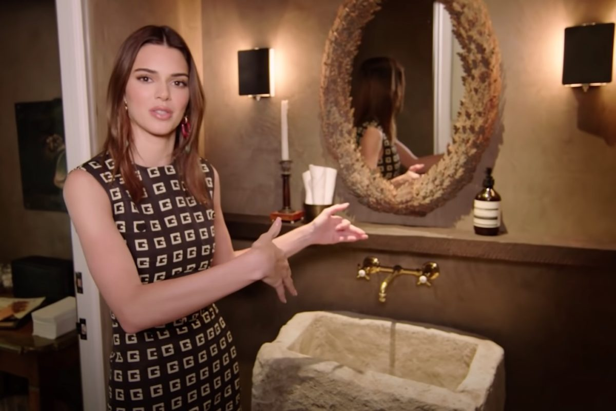 Model Kendall Jenner Gives Architectural Digest a Tour of Her Farmhouse Style LA Home