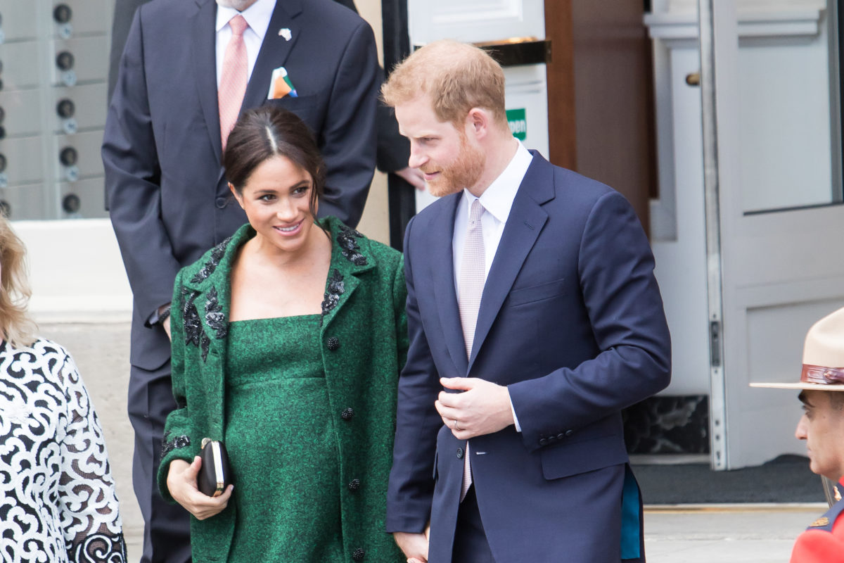 Prince Harry and Meghan Markle Are Suing a Paparazzo Who Took a Photo of Archie While He Was In Their Own Backyard