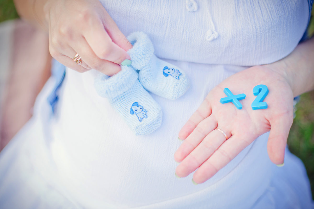 'it's a shock': mom of two learns she has two uteruses after she learns she's pregnant with a baby in each