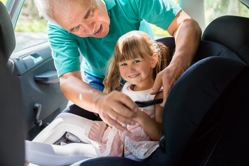 should this mom have to buy car seats for her children's grandparents' car?