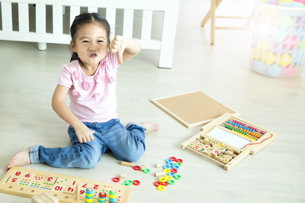 my husband and i disagree about how many toys we should buy our kid: advice?