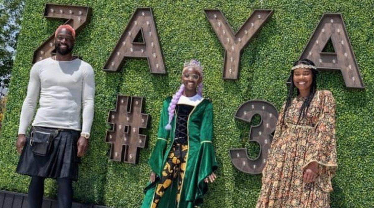 Dwyane Wade And Gabrielle Union Praise Zaya At GLAAD Awards