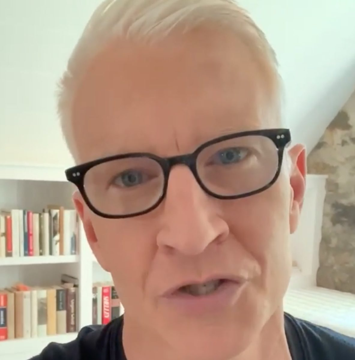Anderson Cooper Says 3-Month-Old Sleeps 12 Hours A Night