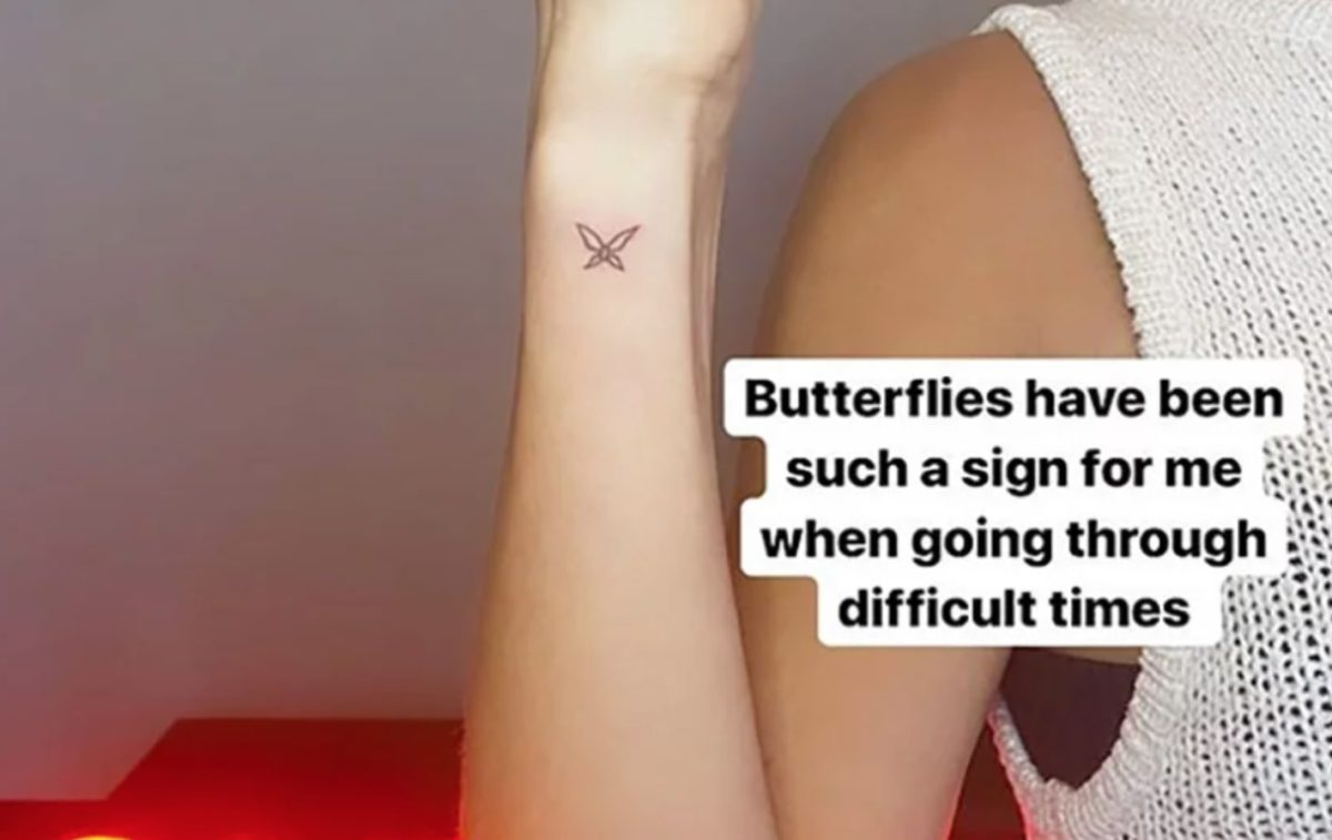 Kristin Cavallari Gets Butterfly Tattoo In Wake Of Divorce