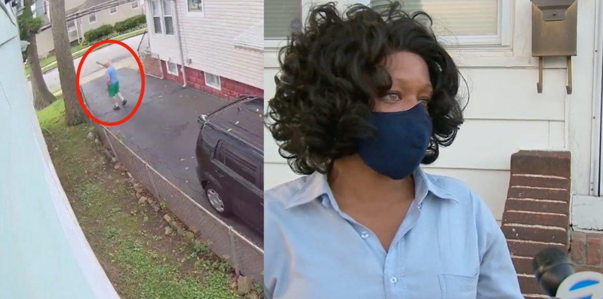 black mom hangs sign on her front door detailing the racial abuse her neighbor and his friends have subjected her to: 'if i die in here, at least cops would see the sign'