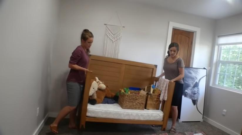 joy-anna duggar reveals rainbow baby's nursery with help from jana and jessa