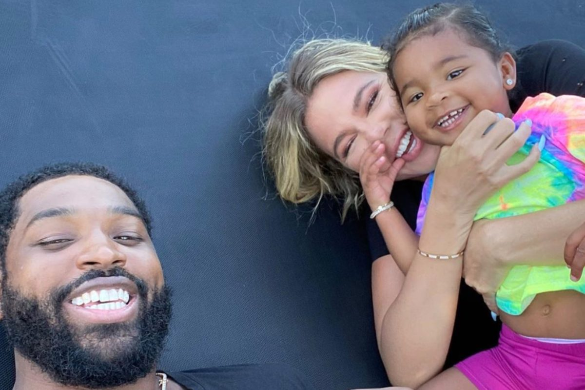 source claims khloé kardashian is back with true's tristan thompson despite not confirming relationship in past interview
