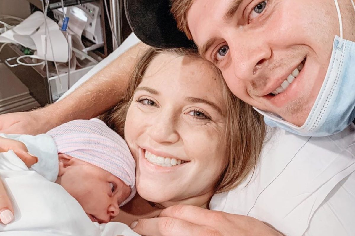 Joy-Anna Forsyth Welcomes a Daughter But Doesn't Share the Name They Picked