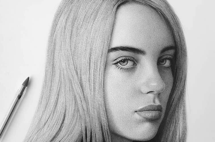 25 unbelievable ballpoint pen sketches