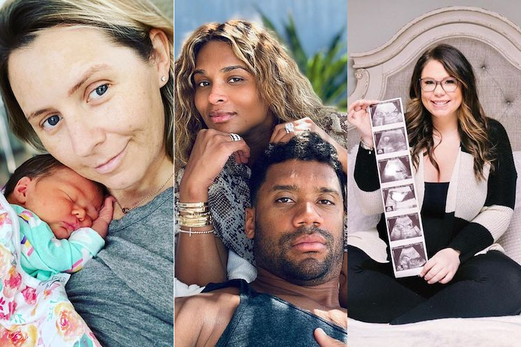 All the Celebrities Who Have Given Birth in 2020