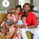 Chrissy Teigen Shows Off Bare Baby Bump: 'Wow, Third Baby Goes Fast'