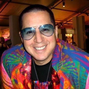 Dr. Noah Greenspan wearing one of his signature colorful outfits promoting his foundation's free Covid-19 Rehabilitation Bootcamp