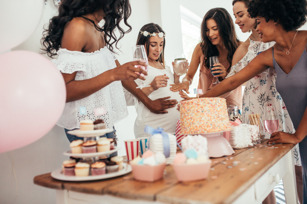 is it weird to throw yourself a baby shower vs. having your family throwing one for you?