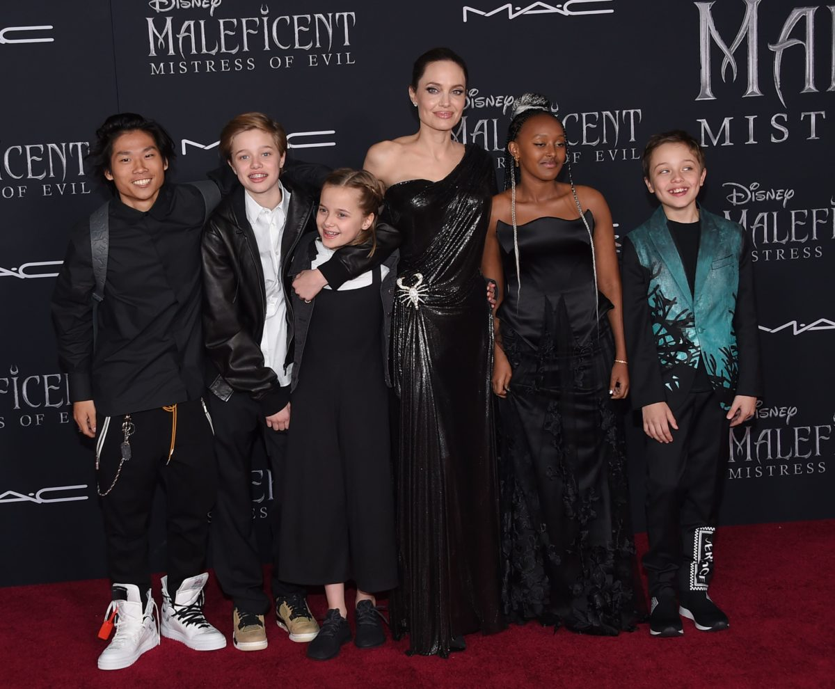 Angelina Jolie Says She's Loving The 'Chaos' With Her 6 Kids
