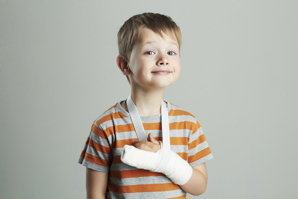 my son has broken his arm 3 times in less than a year: advice?