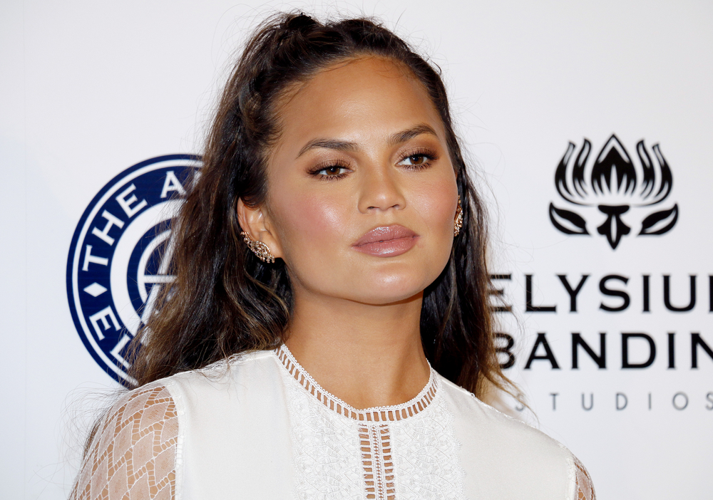 Chrissy Teigen Shares a Photo Update After Having Her Breast Implants Removed