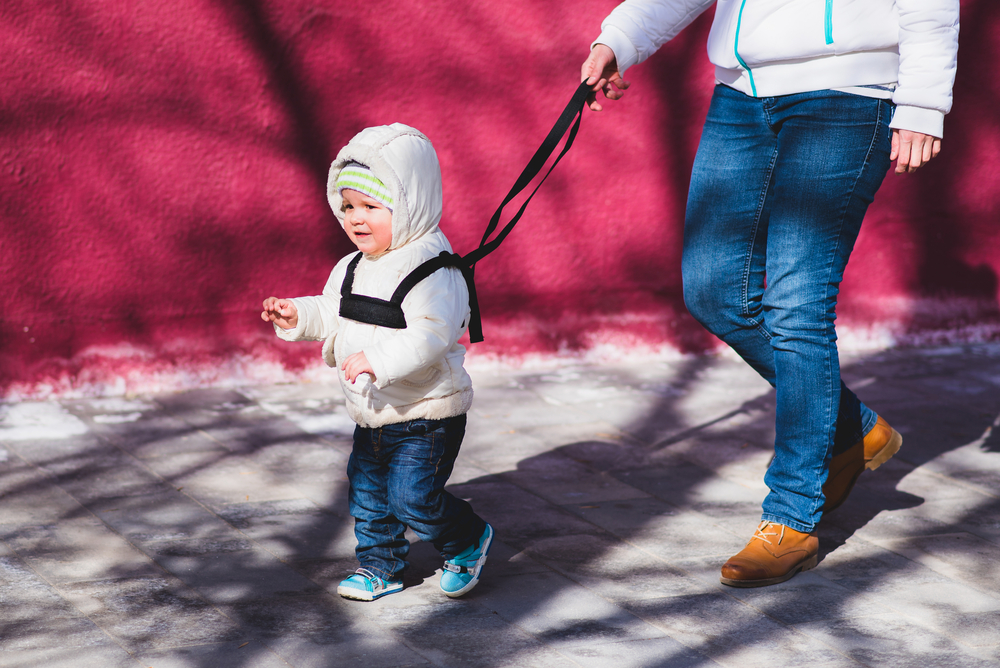 my toddler refuses to hold my hands, which means i can't take him anywhere safely in public: advice?