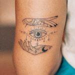 25 Eye-Opening Third Eye Tattoos That Empower Enlightenment