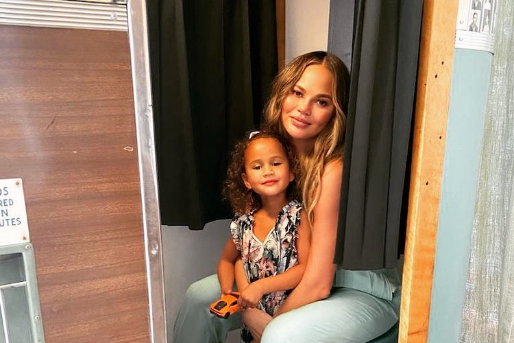 Chrissy Teigen Is Using Botox to Help With This Pregnancy Ailment