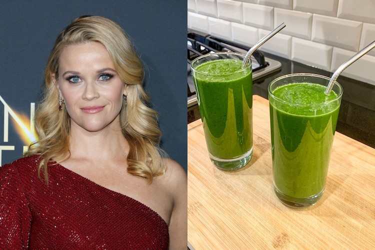 Reese Witherspoon Drinks This Healthy Green Smoothie Every Day