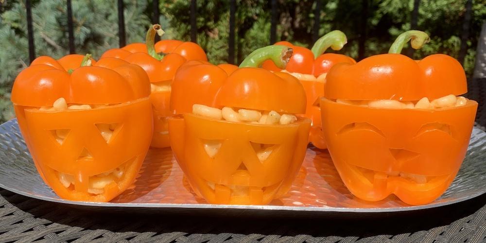 mac-o-lantern recipe perfect halloween treat