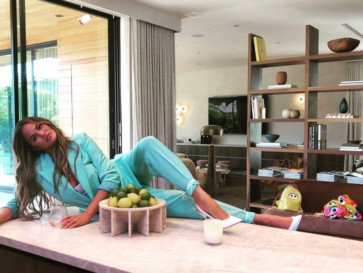 John Legend Praises Chrissy Teigen For Homeschooling Kids