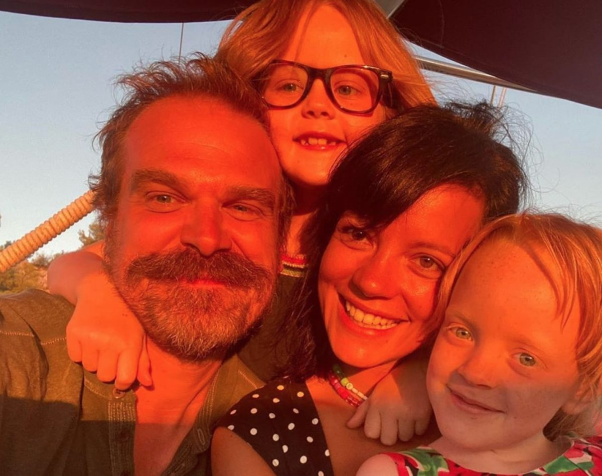 david harbour and lily allen married by the king of rock and roll himself | david harbour and lily allen are married and by the king of rock and roll himself!