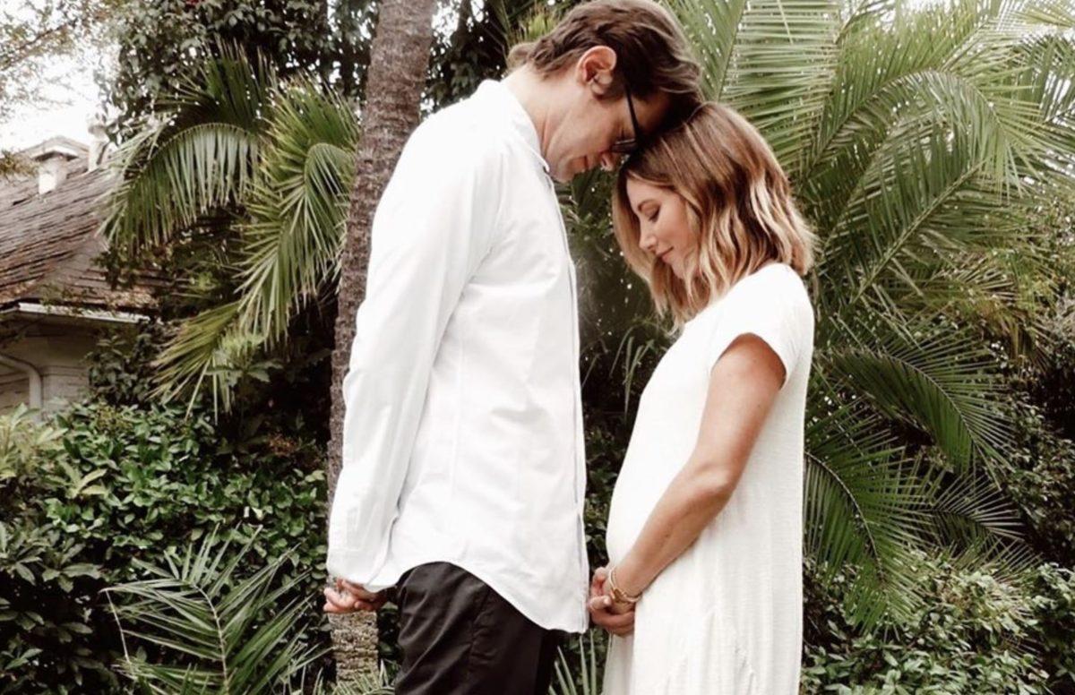 ashley tisdale reveals struggles during first trimester