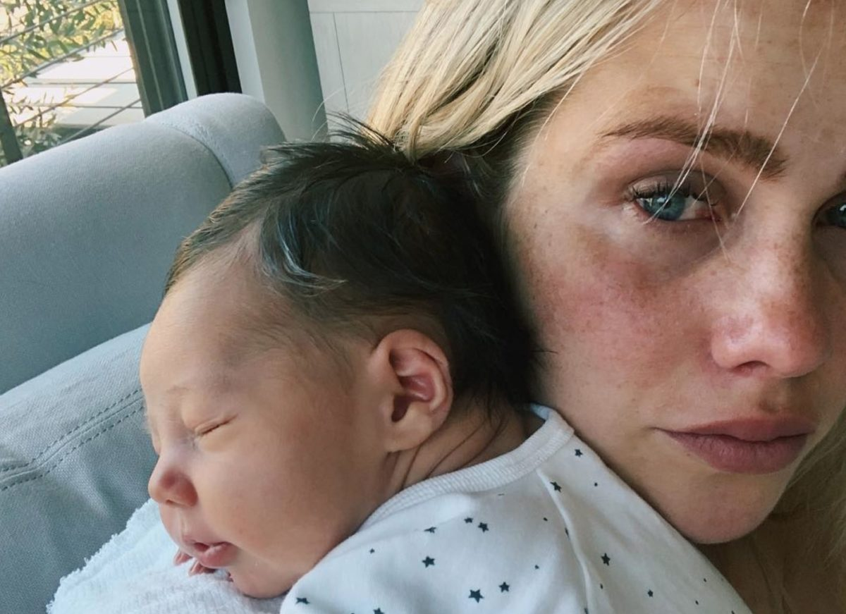 claire holt on 'rough' breastfeeding experience with newborn
