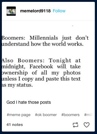 13 Spot On OK Boomer Memes