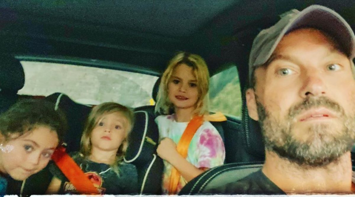 Brian Austin Green Shared Photo of Sons While on a 'Target Run', Now He's Hitting Back at Commenters Criticizing His Boys' Hair